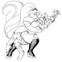 Let's dance little cowgirl by genniidrominda