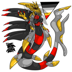 Female Serpent Giratina +Design+ (SOLD)