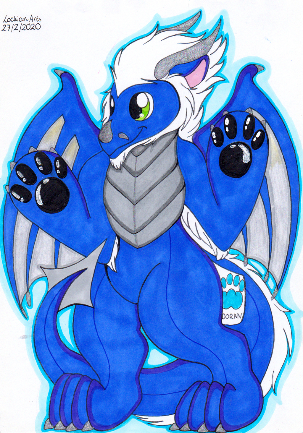NOT MY ART: Doran plushie by Reskell