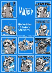 AshTheMare Telegram Stickers 2