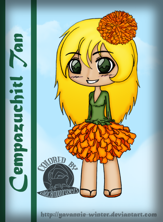 Cempazuchitl Girl