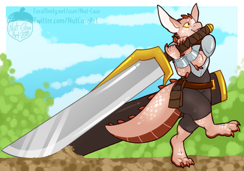 Carry a Big Sword by Nut-Case
