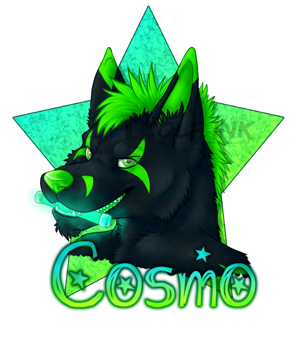 Cosmo badge