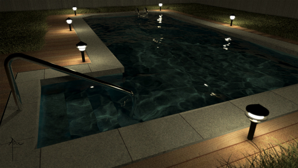 Featured image: Random Pool Render