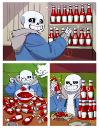 Undertale: Time to Ketchup