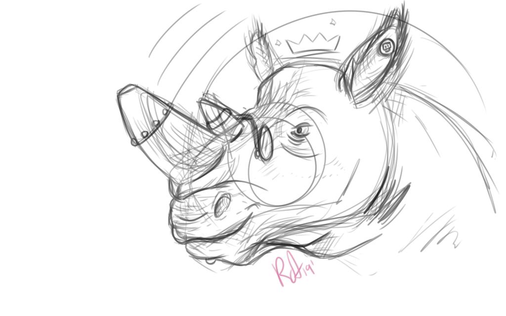 Doodle Rhino