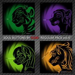 Soul Buttons [Regular Pack vol.4]
