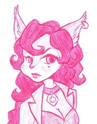 Carmelita Fox Sketches