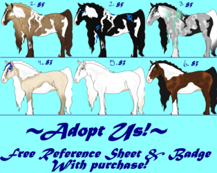 ~ Group Adoptables, Money Situation.. ~