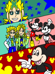 Mickey Mouse and Stephan-X (Past & Present)