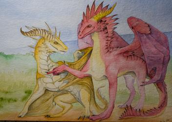 [Christmas Gift] - Dragon pokes