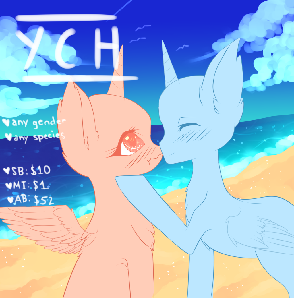Most recent image: YCH | Summer Crush