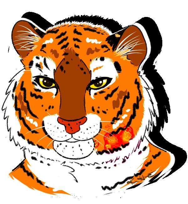 Sir Wonky the Tiger