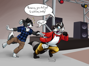 Commission: Getting Dragged Into the Show
