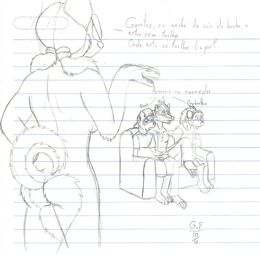 Random College Sketch 1