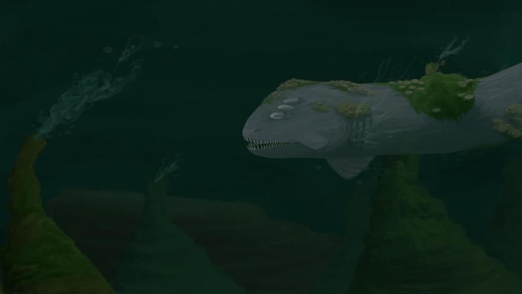 Deep sea eel