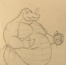 Drunk Croc