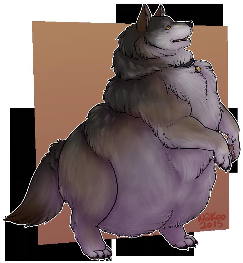 Stream Commission: Fatty wants a treat!