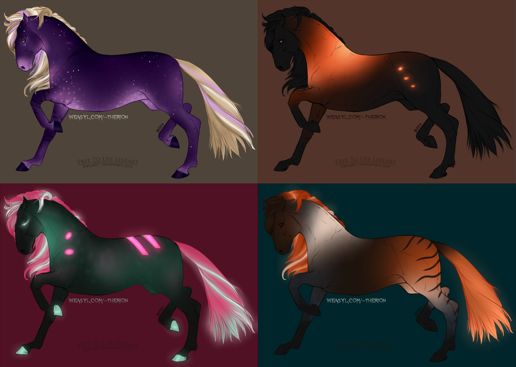Neon Horses [Mine]