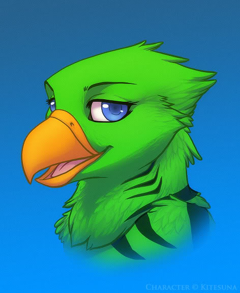 Most recent image: Kite Bust