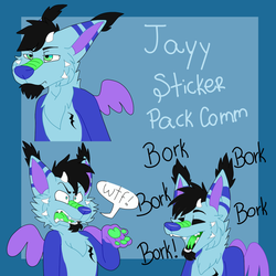 Jayy Sticker Pack Comission