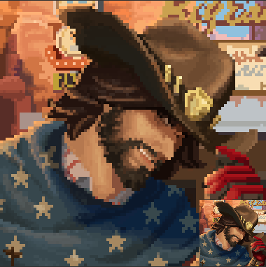 Most recent image: [Port] Name's McCree