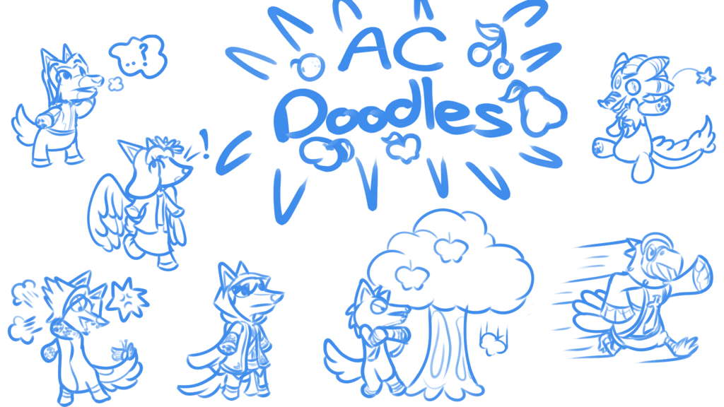 Most recent image: Animal Crossing Sketches