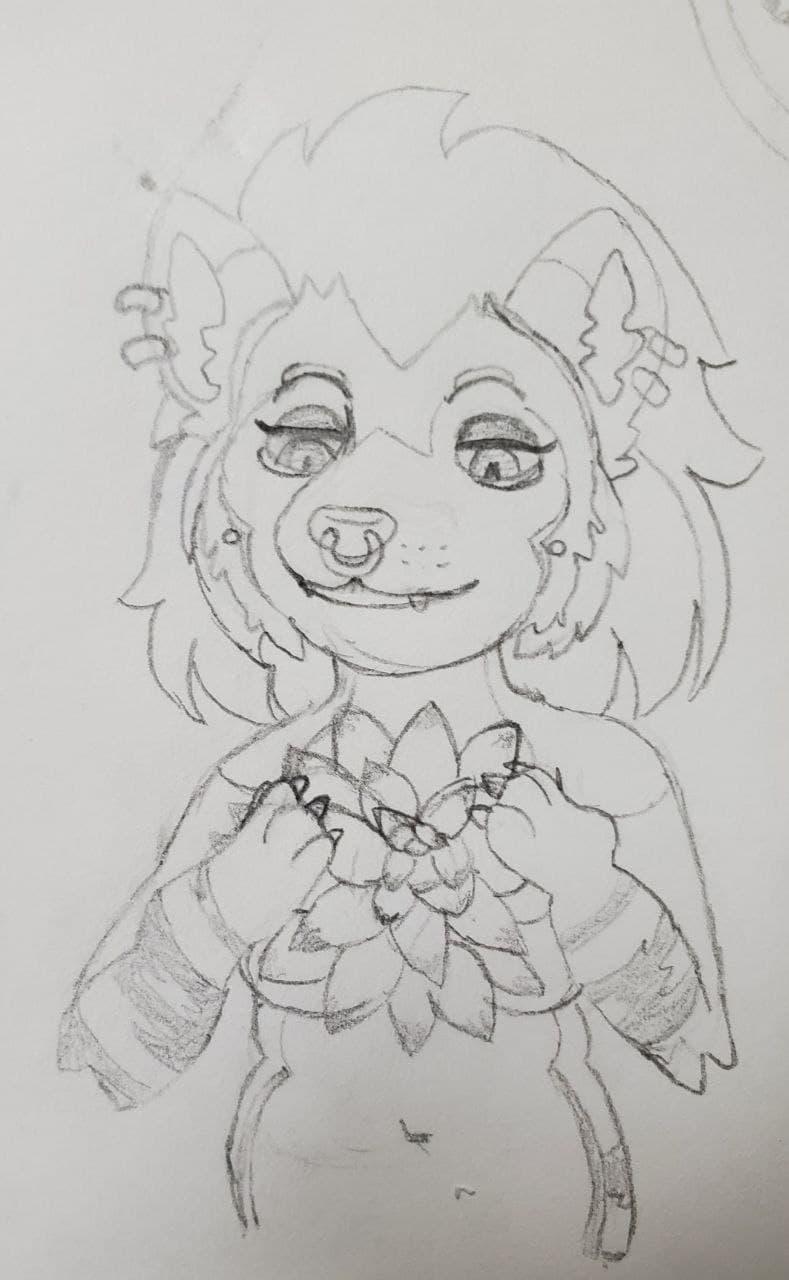 Sketch Yeehaw_Goth
