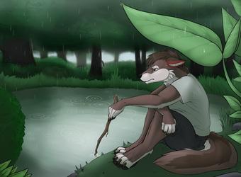[Commission] Rainy Day