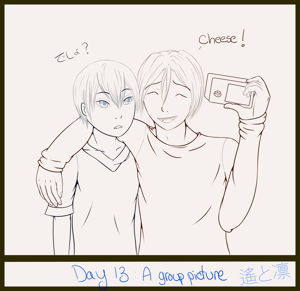 30 day art challenge, Day 13: Group picture