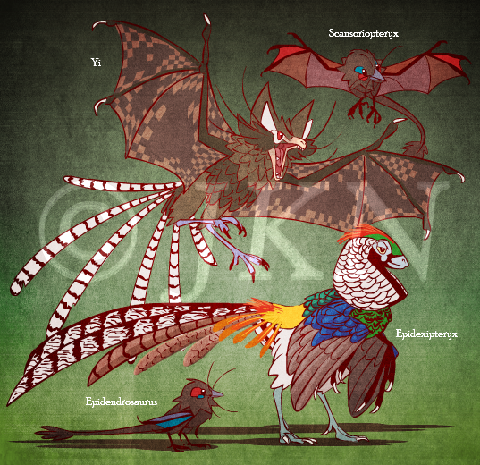 Featured image: Dinovember: Scansoriopterygidae