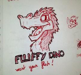 08-06-2016 Fluffy Dino