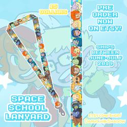 Space School - Lanyard - PRE-ORDERS!