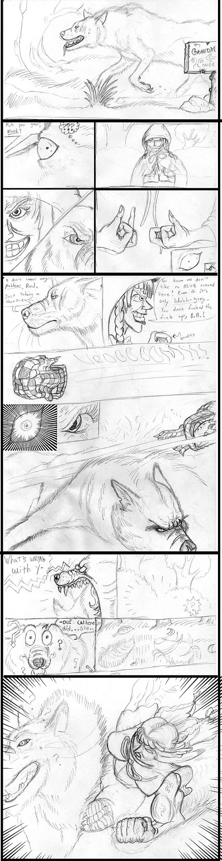 Big Bad Wolf vs Red comic - 1