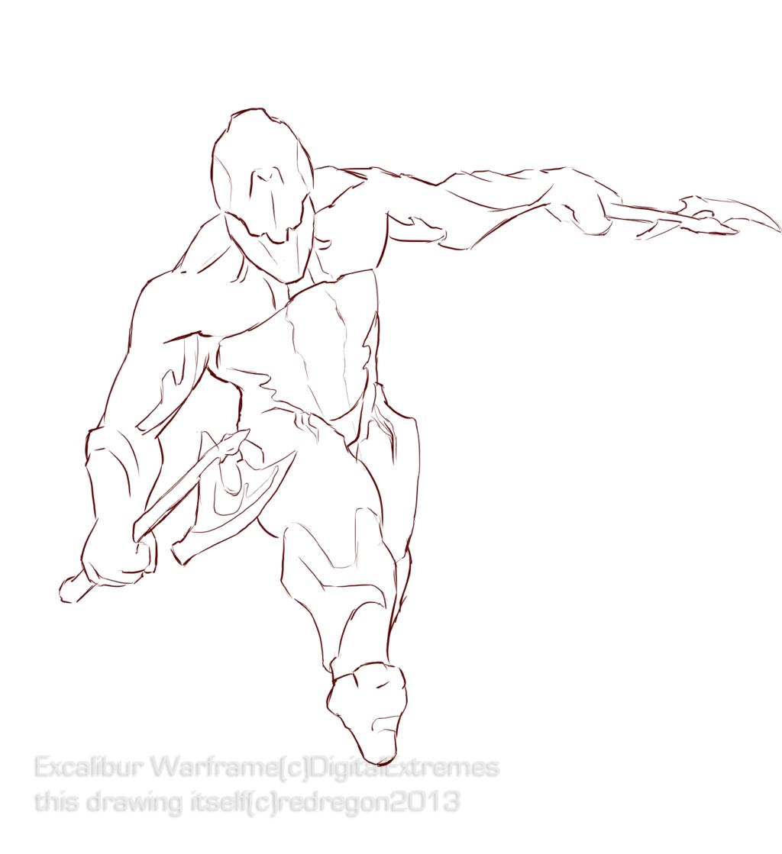 Lines - Excalibur Warframe