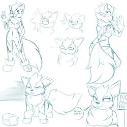 Kaukonine sketches by Drakky