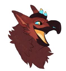 Raffle prize bird