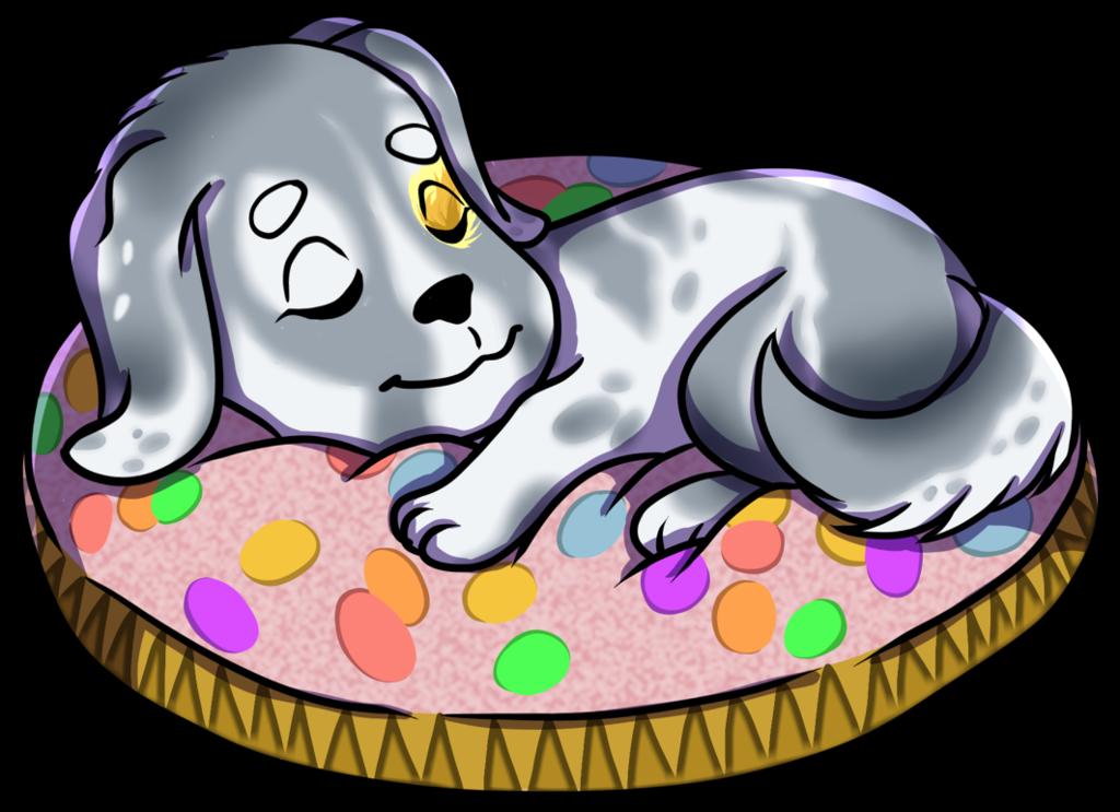 Commssion- Sleeping Puppy Custom