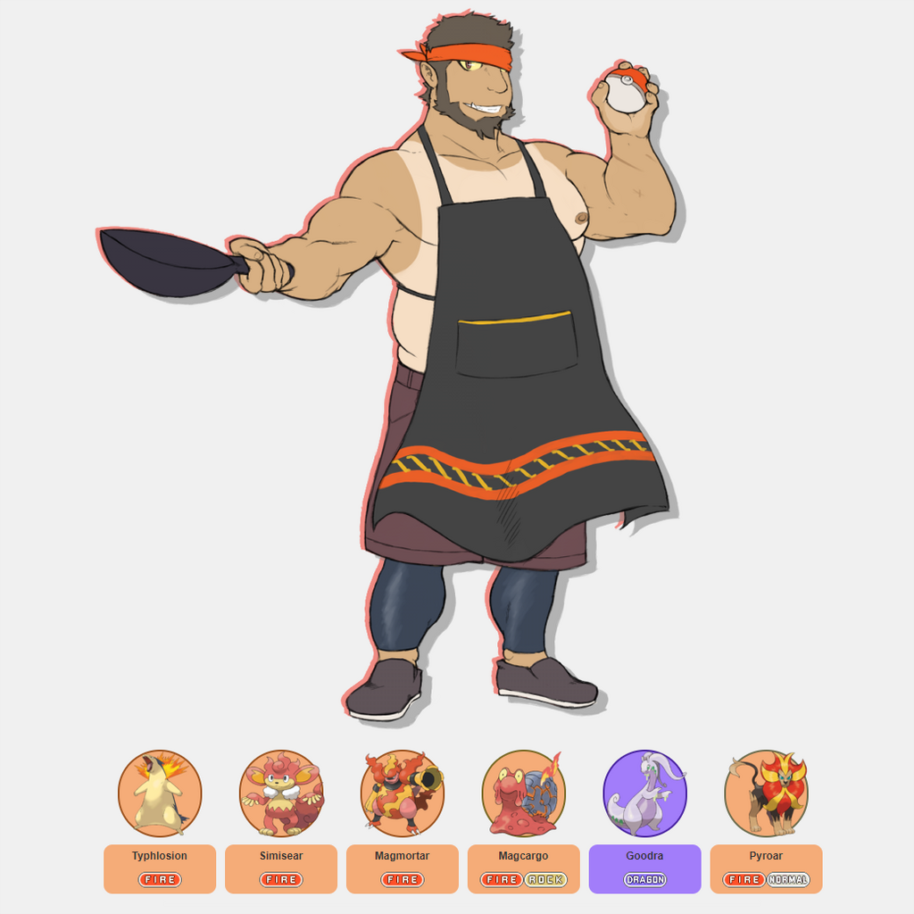 Old Art: Gym Leader Will