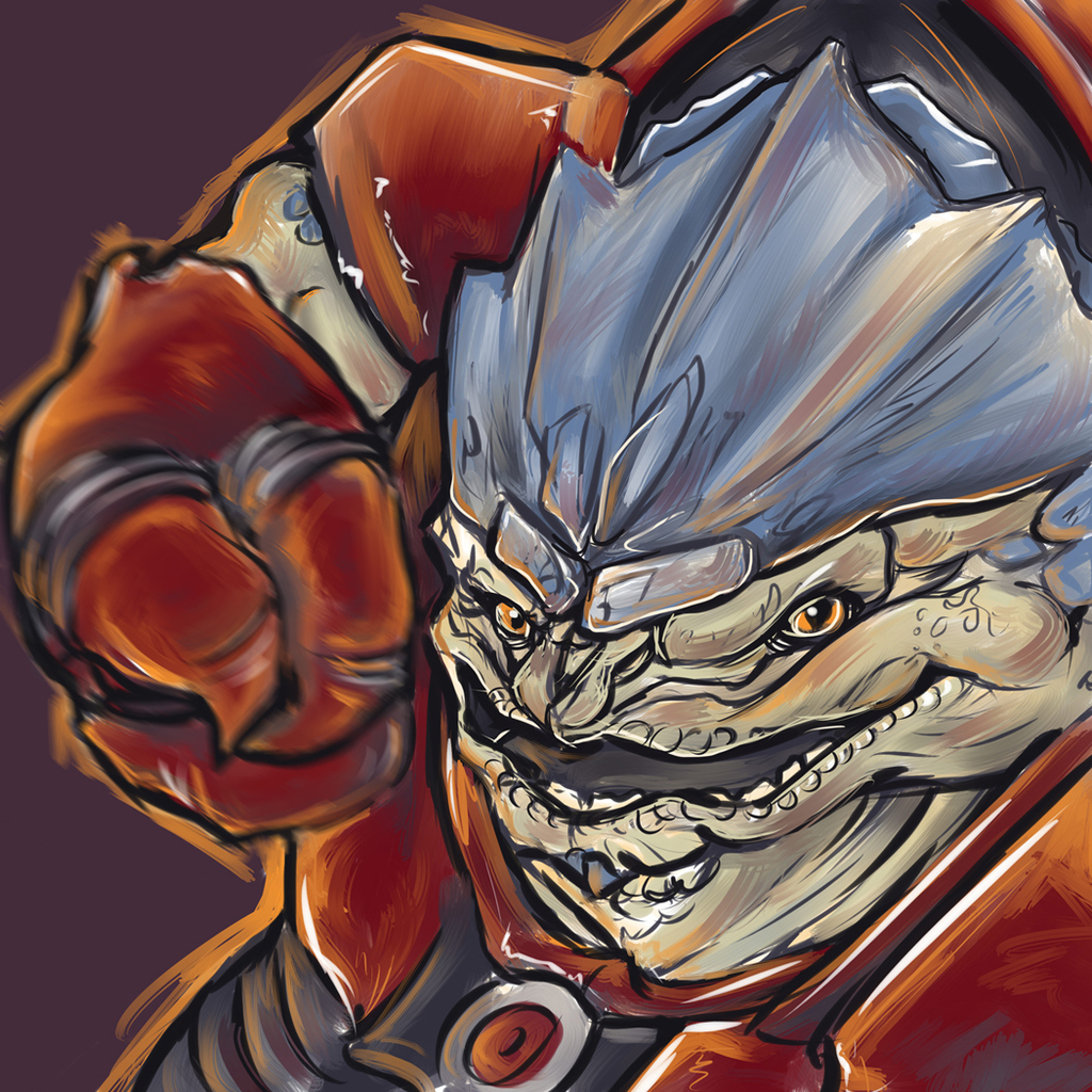Never piss off a Krogan