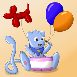 A Squeaky Birthday