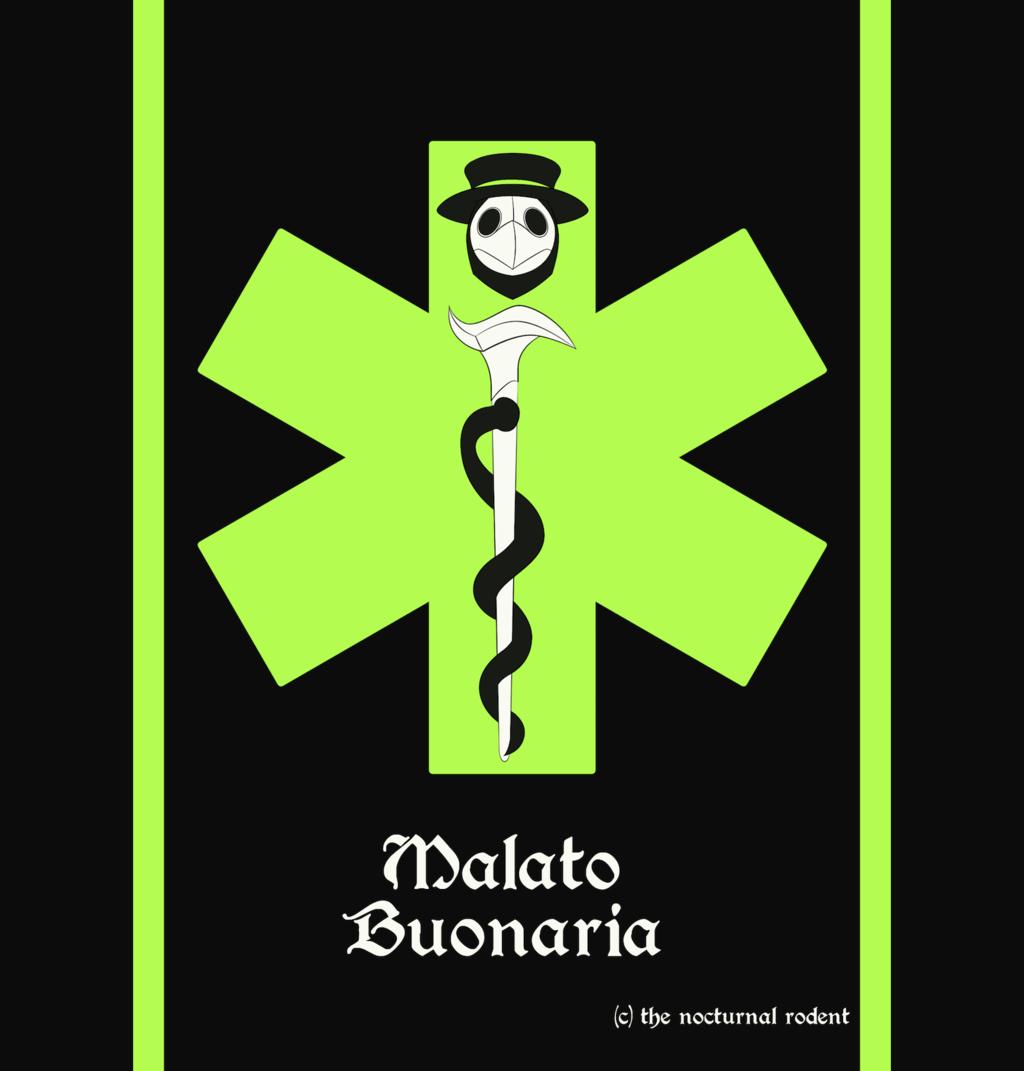 Malato's Superhero Logo