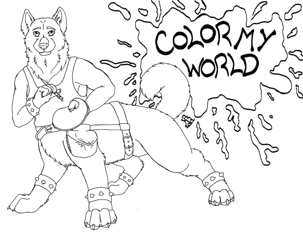 Gift: CrazyHusky (Color My World)