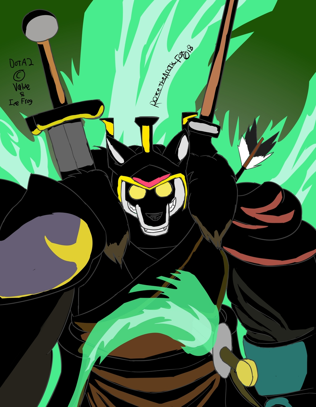 (DOTA2 Fan) Wraith Resurrection with a side of vengeance.
