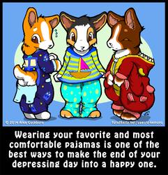 Life's A Chibi: Pajamas