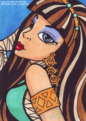 Cleo DeNile Art Card