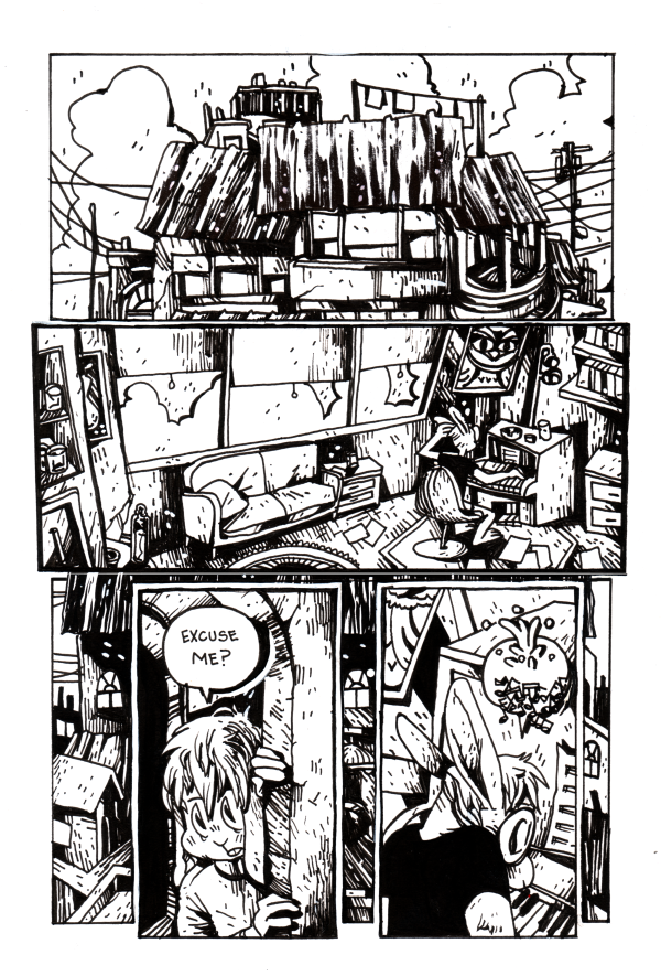 (There) Go Ye Dogs! page 1