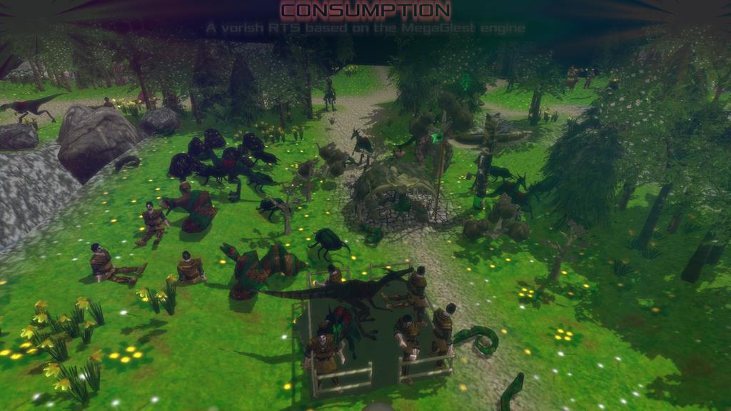 Surprise Project - Consumption (MegaGlest faction)