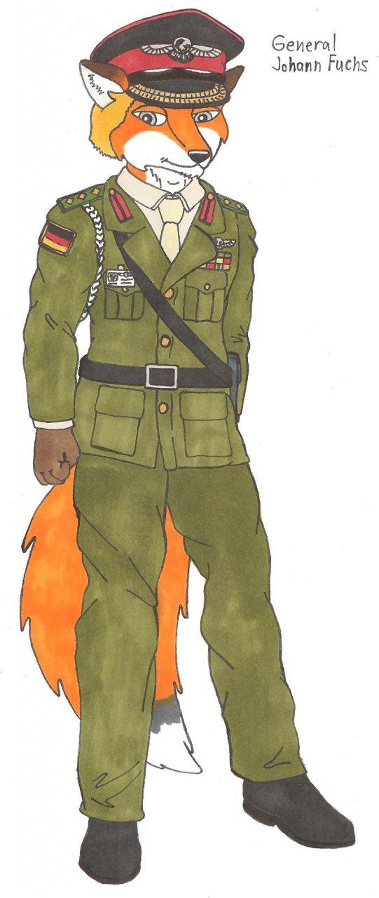 General Johann Fuchs of U.N.I.T.