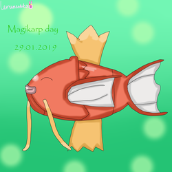 Magikarp day